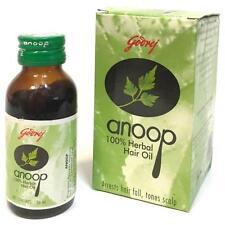 Godrej Anoop 100% Herbal Oil Arrest Hair Fall And Tones Scalp Hair Oil - 50 ml
