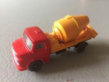 VIKING CEMENT BLENDER  MERCEDES TRUCK SCALE HO  - VINTAGE - MADE IN GERMANY