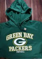 NWT GREEN BAY PACKERS NFL Team Apparel HOODED SWEATSHIRT HOODIE XLARGE XL
