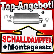 Mittelschalldämpfer FORD TRANSIT 2.2 2.4 TDCI (OHNE DPF/FAP) ab 2006 Auspuff CET