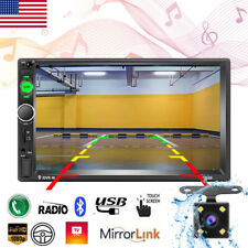 """7"""" Inch Car Stereo Radio Mp5 Player Touch Screen Bluetooth Radio 2Din +Camera"""