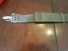 Luggage belt gray strap