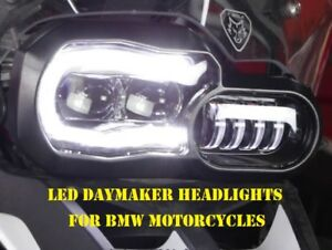 LED Daymaker Headlights With DRL for BMW F650GS F700GS and F800GS Motorcycles