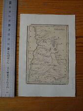 Ancienne carte de la DROME - XVIII échelle en lieues et myriamètres