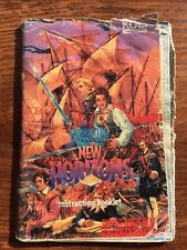 Uncharted Waters New Horizons SNES Super Nintendo Instruction Manual Only