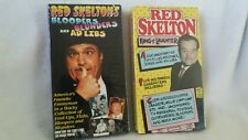 2 NEW Red Skelton Bloopers Blunders Ad Libs & King of Laughter ~VHS Tapes