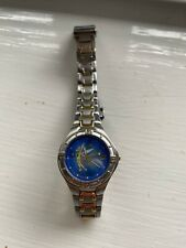 More details for walt disney world tinkerbell time works ladies watch.