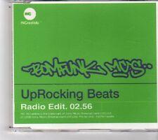 (FM728) Bomfunk Mc's, Uprocking Beats - 2000 DJ CD