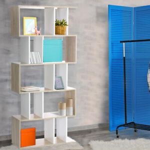 Artiss Display Shelf Cabinet Bookcase Stand Storage Bookshelf 5 Tier CD Shelves
