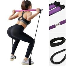 Yoga Resistance Band Pilates Stick Sport Fitness Gym Accessories For Women Men
