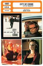 FICHE CINEMA : CITY OF CRIME - Keitel,Dorff,Hutton,Liu 1997 City of Industry