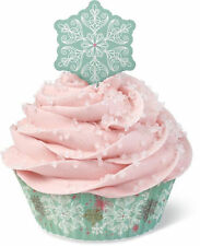 Snowflake Christmas Holiday Cupcake Combo Pack from Wilton #5384