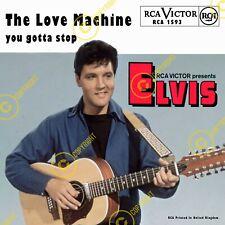 Elvis Presley The Love Machine Uk 7 Inch 45 SLEEVE ONLY