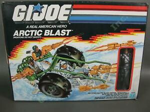 VTG 1989 GI Joe Arctic Blast Winter Vehicle Windchill 99% COMPLETE Figure Box NR