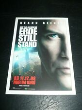THE DAY THE EARTH STOOD STILL, film card (Keanu Reeves, Jennifer Connelly)