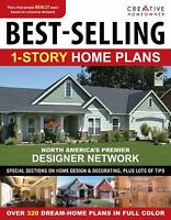 Best-Selling 1-Story Home Plans (CH) by Editors of Creative Homeowner