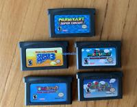 GBA Super Mario Bros Advance 1 2 3 4 or 5 Nintendo GameBoy Advance Selection