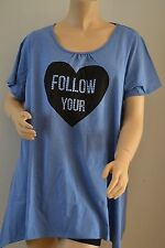 Evans Plus Size Casual Short Sleeve Tops & Shirts for Women
