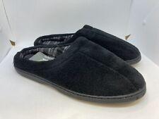 OT Revolution Men's Slip On Slippers Black Size L 10 - 11
