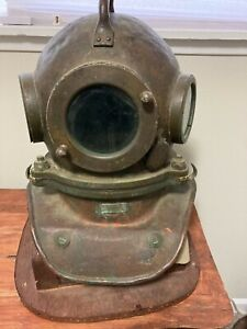 Authentic Vintage Russian Dive Helmet