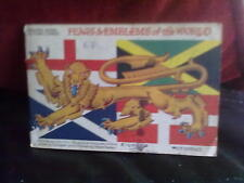 Brooke Bond Flags & Emblems of the World Incomplete -4 Official Album Tea Cards