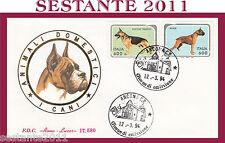 ITALIA FDC ROMA LUXOR ANIMALI DOMESTICI I CANI 1994 ANNULLO ANCONA G930