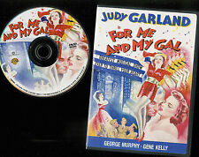 For Me and My Gal (DVD) Judy Garland Gene Kelly Fn-VF disc / VF case