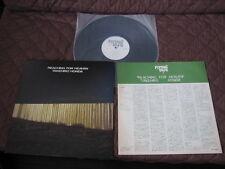 Takehiro Honda Reaching for Heave Japan Promo White Label Vinyl LP Tony Williams
