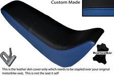 Noir & bleu royal s' adapte personnalisé kinroad xt 50 GY double housse siège en cuir