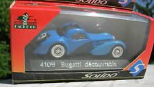 Solido 1/43 Metal Bugatti DECOUVRABLE 4109