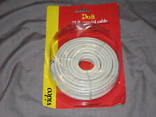 Doit Digital Coax Cable Satellite A/V CD DVD Video Components 25 ft NEW!
