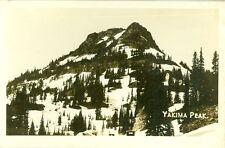 Yakima Peak, Wa Yakima Peak, 1945 Washington Cascades Rppc