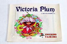 Panini Victoria Plum (1983) 1 X Sac en Papier Paquet Bustina Rareté Absolue Rare