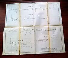 1900 Diagram Yuba River Debris Commission C&O RR Bridge Marysville CA