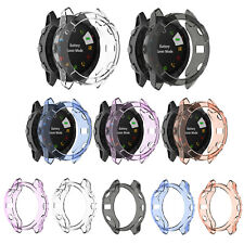 For Garmin Fenix 6S 6X 5S 5X Transparent Tpu Protective Case Cover Frame Shell
