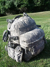 LOADED W POUCHES US Army Military ACU Camo 3 Days MOLLE ASSAULT Bag Back PACK GI