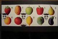 GB 2003 Commemorative Stamps~Fruit & Veg~Fine Used Set~S/A~On Piece~UK Seller