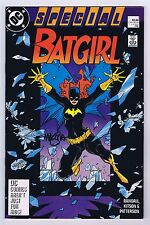 Batgirl Special #1 Signed by Mike Mignola w/COA 1988 Very Fine/Near Mint DC