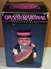 "Grand Marshal Cookie Jar New Orleans ""96 Mardi Gras Records BOX Black Americana"