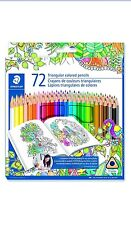 Staedtler 72 Coloring Pencil   Wood Colored Pencil 1270C72BLU