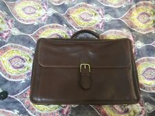 Coach briefcase Brown Leather