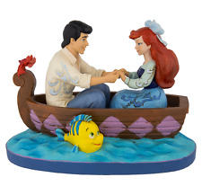 Disney Traditions Jim Shore Little Mermaid Ariel & Eric in Boat Figurine 4055414