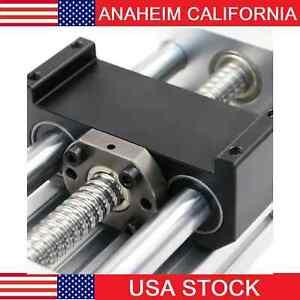 12 inch Stroke Linear Motion Router/Robot Module Guideway Ballscrew 10mm Lead