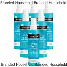 6 x NEUTROGENA HYDRO BOOST HYDRATING SPRAY COOLS  FACE BODY NORMAL TO DRY SKIN