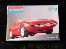 Monogram #2737 Ferrari Daytona Spyder kit in 1/24 scale