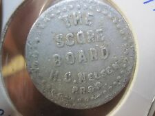 WASECA MN GOOD FOR 5c IN TRADE TOKEN MERCHANT'S HENERY NELSON TAVERN MINNESOTA