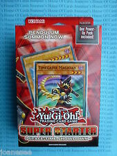 Yu-gi-oh Space-Time Showdown Super Starter Deck ENG 1st Edition NEW BNIB Sealed