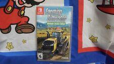 Nintendo Switch Farming Simulator Game BRAND NEW SEALED