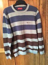 Ben Sherman boys cotton jumper size small 13 - 14 NWOT