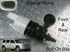 Front & Rear Windscreen Washer Pump Jeep Patriot 2007 2008 2009 2010 2011